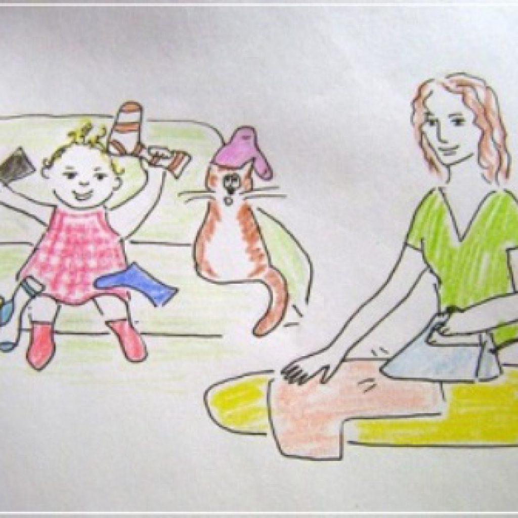 картинки рисунки на тему как я маме помогают территория, есть